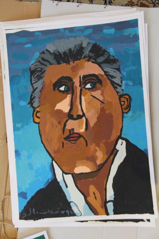 نقاشی کارلوس کیروش