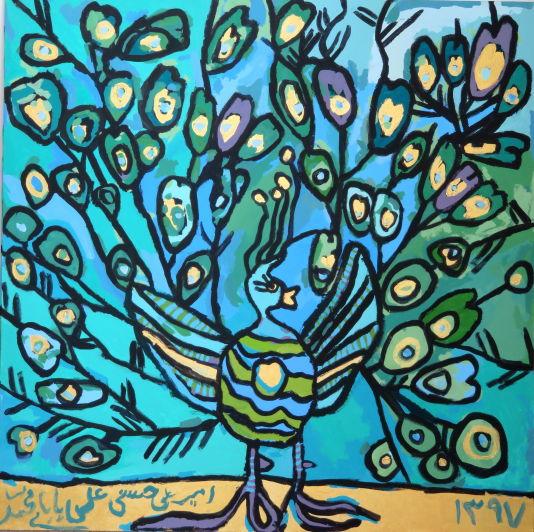 نقاشی درخت زندگی